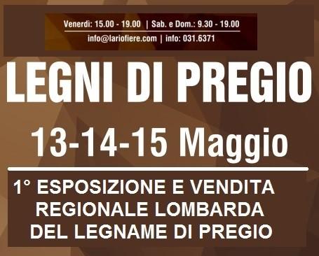 1a Esposizione/vendita regionale lombarda del legname di pregio