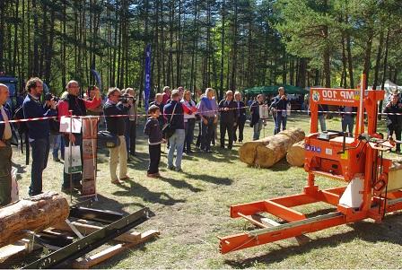'Segherie mobili a BOSTER ...come valorizzare il legno locale e promuovere il fai-da-te'