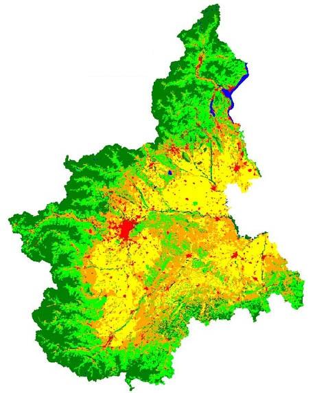 I boschi del Piemonte, alcuni numeri