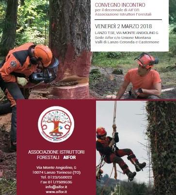 """Convegno: """"L'istruttore forestale: una figura importante per la formazione e qualificazione del settore"""""""