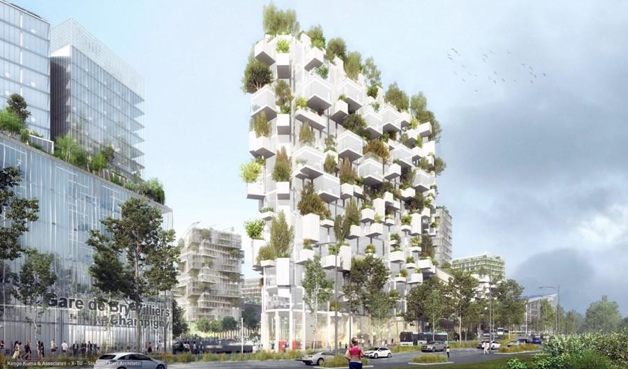 Forêt blanche, il Bosco Verticale di Stefano Boeri arriva anche a Parigi