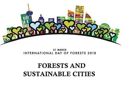 Giornata Internazionale delle Foreste 2018: Foreste e città sostenibili