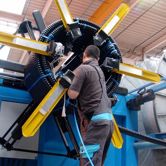 CALPEX® PUR-KING la rivoluzionaria tubazione di BRUGG Pipe Systems con un valore Lambda da record