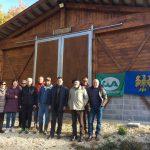 Donata dal FVG una stalla in legno certificato PEFC alle zone terremotate dell'Umbria