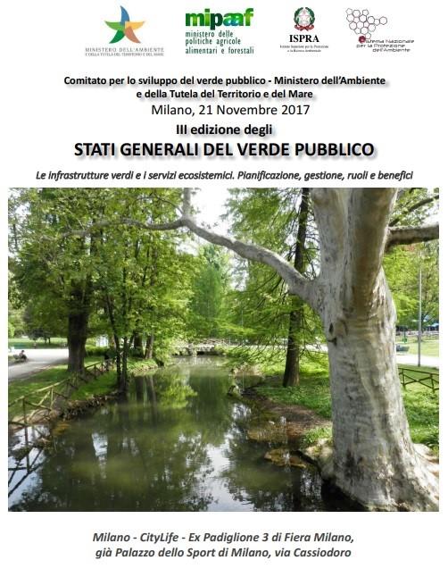 Stati generali del verde pubblico - Milano, 21 novembre 2017
