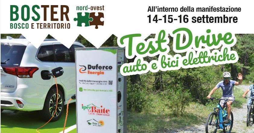 Test Drive di auto e bici elettriche aBOSTER nord ovest 2018