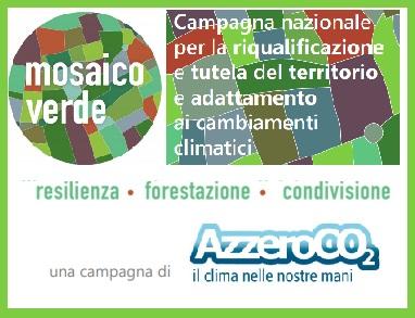 Al via l'iniziativa Mosaico Verde