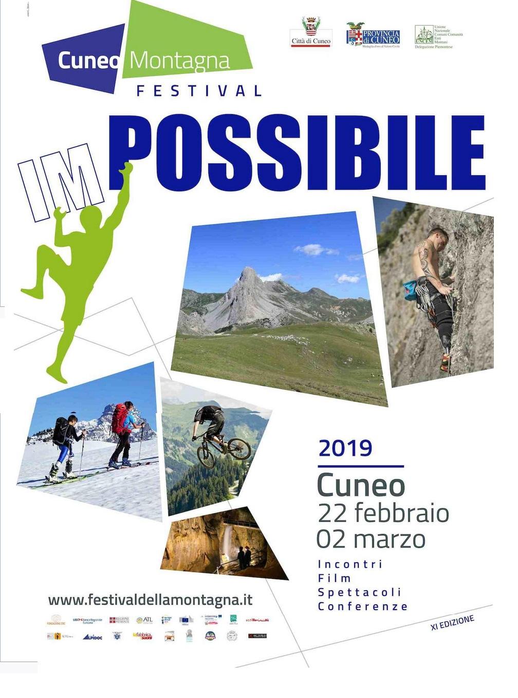 Cuneo Montagna Festival- dal 22 febbraio al 2 marzo 2019