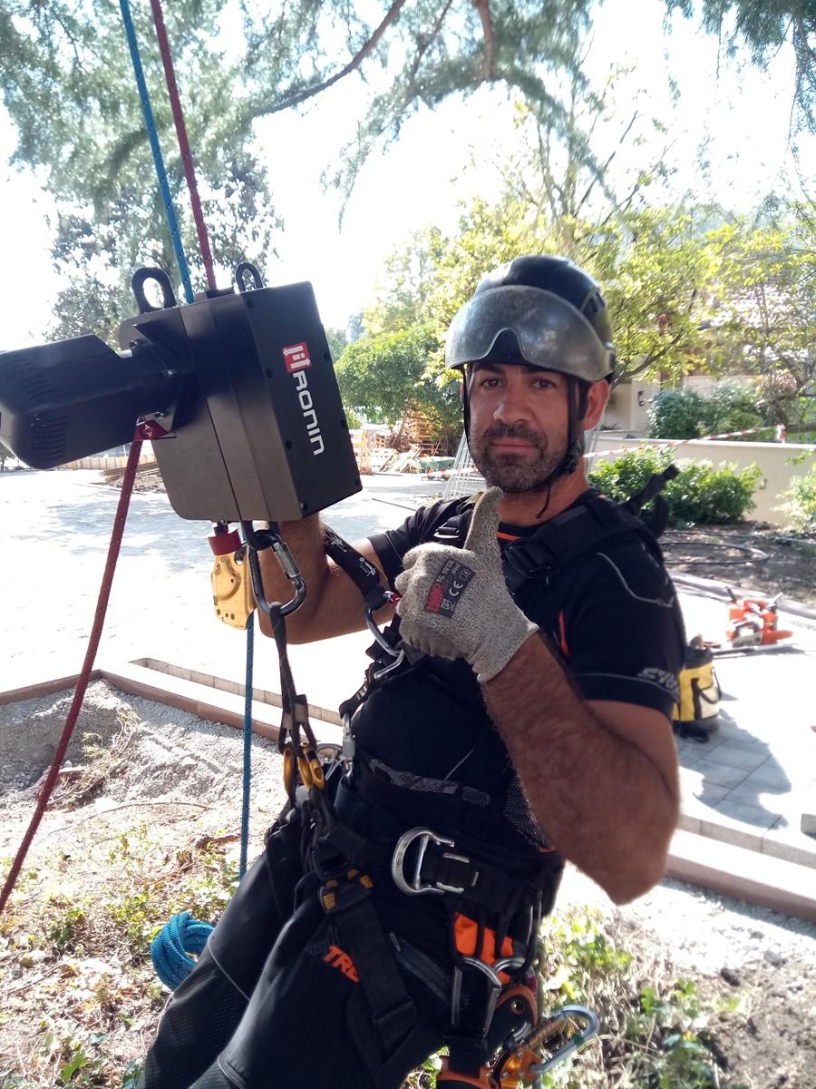 Ronin Lift l'indispensabile strumento per il Treeclimbing e per tutti i lavori in quota su fune