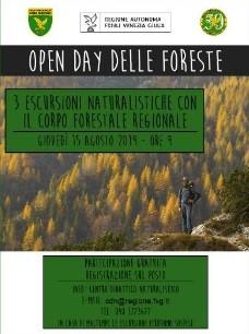 Open day delle foreste - Ferragosto con la Forestale