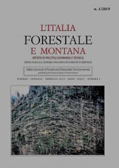 E' uscito il n. 1/2019 della rivista L'Italia Forestale e Montana dedicato alla Tempesta Vaia
