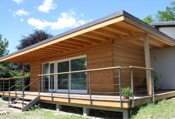 Architettura passiva la prima casa parassita in legno - Ampliamento casa costi ...
